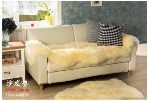 新西兰直邮【包邮】纯羊毛垫  双拼羊皮垫 60*200CM