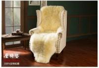 新西兰直邮【包邮】纯羊毛垫  双拼羊皮垫 160-170*55