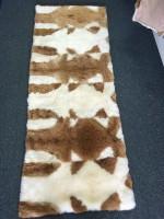 新西兰直邮【包邮】 羊驼毛垫 皮毛一体 羊皮垫坐垫沙发垫 70*180cm 驼羊皮垫
