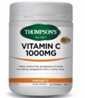 新西兰直邮 Thompson\\\'s Vitamin C 1000mg汤普森天然维他命C 150片