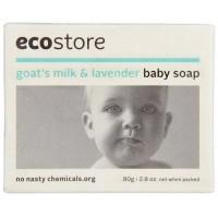 新西兰直邮 ECO STORE 宝宝羊奶皂80g