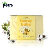 新西兰直邮 帕氏麦卢卡蜂蜜 宝宝滋润香皂 宝宝专用 95克
