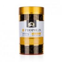 新西兰直邮 Gold kiwi黑蜂胶软胶囊365粒2000mg高含量