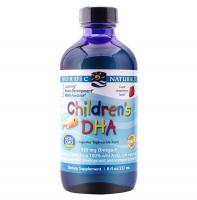 挪威Nordic Naturals儿童DHA顶级鳕鱼肝油237ml