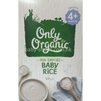 新西兰直邮 only organic 婴儿米粉 4个月以上 200g