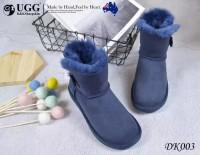 澳洲直邮 DK UGG DK003 mini button 女款防泼水木扣雪地靴