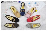 澳洲直邮 DK UGG DK201 新款彩虹 防泼水 毛豆豆鞋