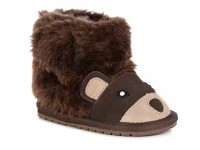 新西兰直邮 UGG EMU B11197 EMU小小熊宝宝鞋(巧克力色)