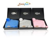 新西兰直邮【包邮】Littlefish 儿童驼羊毛围巾 灰色/蓝色/粉色