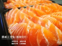 国内现货【一份包邮】挪威冰鲜三文鱼段 (带皮去刺)250g