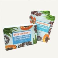 2020年10 Skin Nutrient 润透保湿精萃活颜/面膜  铁盒10片