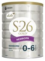 【澳洲直邮-澳邮】WYETH惠氏 S26 金装牛奶粉一段3罐一箱 2020.01 上传身份证后才发货