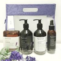 【包邮】natio floral 薰衣草护理套装 4件套 (洗手液+护手霜+安神喷雾+香皂)