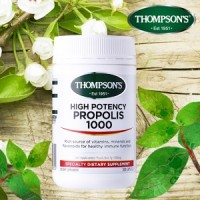 THOMPSON'S 汤普森 高含量蜂胶胶囊 1000mg 300粒