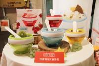 【包邮】zoku 冰淇淋碗 无需插电 红色