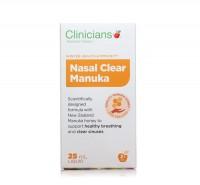 科立纯 Clinicians Nasal Clear Manuka麦卢卡 鼻炎 清鼻喷雾25ml
