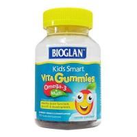 佳思敏 Bioglan 鱼油加多元维生素软糖 110粒