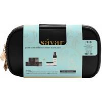 Savar天然抗氧化保湿面膜套装(内含保湿面膜100ml*3,赠送保湿面膜100ml和爽肤水30ml