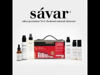 Savar 高端护肤礼盒装 豪华美白7件套赠送化妆包