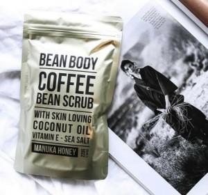 bean body 咖啡豆身体磨砂膏 蜂蜜 220g