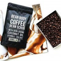 BEAN BODY 咖啡身体磨砂膏 椰子 220克 去鸡皮 去角质 去痘印