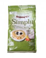 hubbard 麦片 水果&坚果 600g