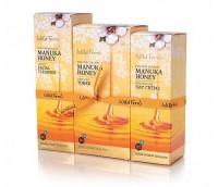 Parrs 帕氏麦卢卡蜂蜜护肤基础三件套[温和洗面奶、爽肤水、日霜]