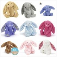 Jellycat邦尼兔 经典害羞系列 柔软毛绒玩具公仔 中号 31厘米左右 多色可选