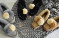 澳洲直邮 DK UGG DK211 兔毛绒球鞋
