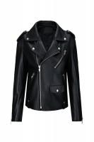 【澳洲 EDGII】ED1015 Edgii 黑皮夹克大衣男女同款