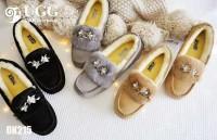 【澳洲直邮】 DK UGG 215 蜜蜂物语系列3M防泼水加毛豆豆鞋