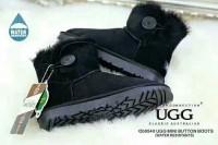 清仓特价 OZWEAR UGG 澳洲直邮OB054 木扣mini ugg mini button boots