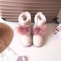 【国内发】Ugg Australia 吉塔Gita双毛球中筒靴
