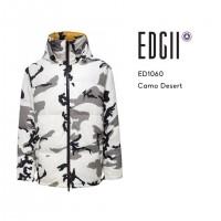 【澳洲EDGII|国内包邮发】ED1060 迷彩羽绒服男女同款均码
