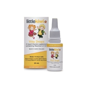 little kiwi 儿童维生素滴剂 维c vc 20ml 2021-07