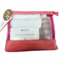 【包邮】Natio Purify 圣诞礼包 (卸妆湿巾一盒内24张,玫瑰水250ml,头带,精美化妆包)