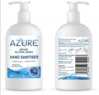 新西兰现货 azure  75%酒精免洗洗手液 300毫升